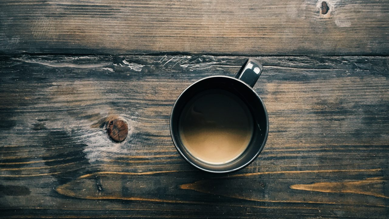 スタバのコーヒーおかわり